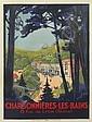 ROGER BRODERS (1883-1953). CHARBONNIÈRES - LES - BAINS. Circa 1927. 42x30 inches, 107x78 cm. Lucien Serre, Paris.
