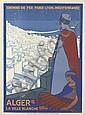 ROGER BRODERS (1883-1953). ALGER / LA VILLE BLANCHE. 1920. 42x30 inches, 108x77 cm. Cornille & Serre, Paris.