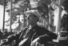 MAN RAY (1890-1976) Self-portrait (Antibes).