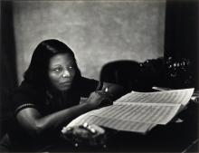 SMITH, W. EUGENE (1918-1978) Mary Lou Williams (from the