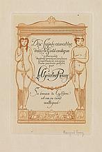 (CURIOSA.) [Lambert, André.] Dix sujets aimables dans le Goût antique.