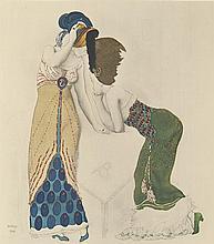 (BAKST, LÉON.) Levinsohn, André. Léon Bakst.