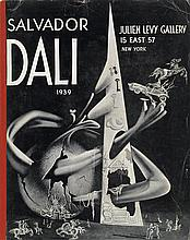 DALÍ, SALVADOR. Julien Levy Gallery catalogue and souvenir card.
