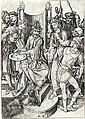 MARTIN SCHONGAUER Christ before Pilate.