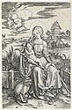 ALBRECHT DÜRER Virgin and Child with the Monkey.