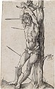 ALBRECHT DÜRER St. Sebastian Bound to the Tree.