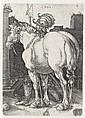 ALBRECHT DÜRER The Large Horse.