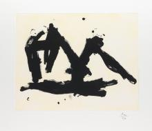 ROBERT MOTHERWELL Stephen's Iron Crown Etched.