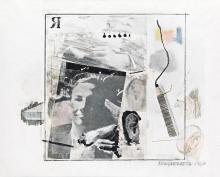 ROBERT RAUSCHENBERG Dwan Gallery Poster.