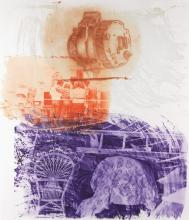 ROBERT RAUSCHENBERG Back-Up.