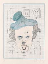 CLAES OLDENBURG Symbolic Self-Portrait with Equals.