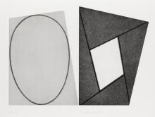 ROBERT MANGOLD Frames and Eclipse B.