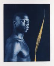 ROBERT MAPPLETHORPE Ken Moody (Nude with Leaf).