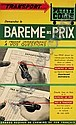 FRANCIS BERNARD (1900-1979) BAREME DES PRIX. Circa 1935., Francis Bernard, Click for value