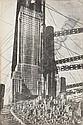 (ARCHITECTURE.) Lissitzky, Eliezer. Arkhitektura sovremennogo zapada (Western Architecture Today).