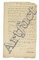 JEFFERSON, THOMAS. Autograph Letter Signed,