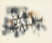 NORMAN LEWIS (1909 - 1979) Untitled (Abstract Composition).