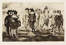 ÉDOUARD MANET Les Petits Cavaliers.