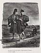 EUGÈNE DELACROIX Faust: Méphistophélès et le Barbet.