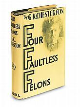 CHESTERTON, G. K. Four Faultless Felons.