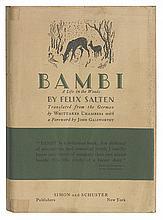 (CHILDREN'S LITERATURE.) Salten, Felix. Bambi.