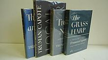 CAPOTE, TRUMAN. Group of 4 First Editions.