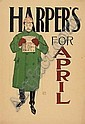 EDWARD PENFIELD (1866-1925) HARPER'S APRIL. 1893.