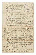 HAMILTON, ALEXANDER. Autograph Document Signed,