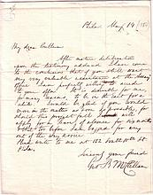 MCCLELLAN, GEORGE B. Autograph Letter Signed,