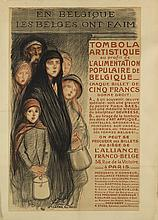 VARIOUS ARTISTS. [FRANCE / WORLD WAR I.] Group of 6 posters. 1915-1918. Sizes vary.