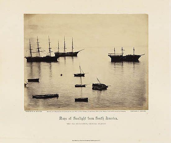 GARDNER, ALEXANDER (1821-1882) & MOULTON, HENRY DEWITT(1828-1893) Album titled