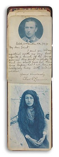LUMMIS, CHARLES (1859-1928) Album titled