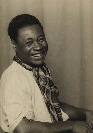 ABBOTT, BERENICE (1898-1991) Claude McKay, Paris.