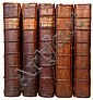 BAYLE, PIERRE; et al. The Dictionary Historical and Critical . . . Second Edition.  5 vols.  1734-38