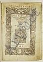 BERNARD of Clairvaux, Saint. Opera.  1538