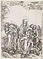 CRISTOFANO DI MICHELE MARTINI, IL ROBETTA Madonna and Child with St. John the Baptist and Three Angels.