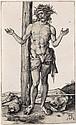 ALBRECHT DÜRER Man of Sorrows with Arms Raised.