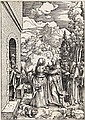 ALBRECHT DÜRER The Visitation.