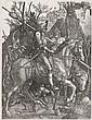 JOHANNES WIERICX (after Dürer) Knight, Death and the Devil