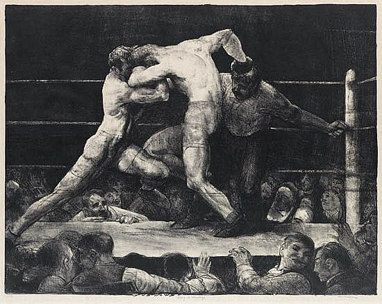 GEORGE BELLOWS A Stag at Sharkey's.
