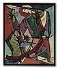 ROMARE BEARDEN (1911 - 1988) Christ Healing the Sick.