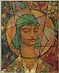 HENRY BOZEMAN JONES (1889 - 1973) Untitled (Romantic Head).