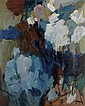 HALE WOODRUFF (1900 - 1980) Gathering Storm (Blue Landscape).