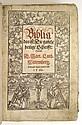 BIBLE IN GERMAN.  Biblia; das ist, Die gantze heilige Schrifft Deudsch. Doct. Mart. Luth.  1560