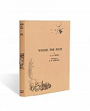 (CHILDREN'S LITERATURE.) MILNE, A.A. Winnie-the-Pooh.