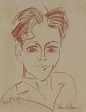 [COCTEAU, JEAN.] Dufy, Raoul. Portrait.