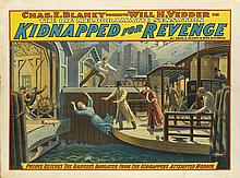 DESIGNER UNKNOWN. KIDNAPPED FOR REVENGE. 1906. 30x39 inches, 76x101 cm. Strobridge, New York.