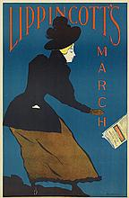 WILL CARQUEVILLE (1871-1946). LIPPINCOTT'S MARCH. 1895. 19x12 inches, 48x31 cm.
