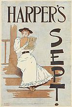 EDWARD PENFIELD (1866-1925). HARPER'S SEPT. 1893. 18x12 1/2 inches, 47x32 cm.