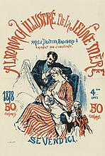 DESIGNER UNKNOWN. ALMANACH ILLUSTRE DE LA JEUNE MERE. 1878. 19x13 inches, 50x34 cm. Monrocq, Paris.